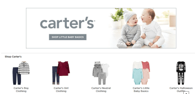 Kohl's : UP TO 92% OFF CARTER'S!