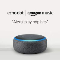 Amazon : $0.99 FOR AN ECHO DOT New Subscribers Only (As of 10/21/2019 4.03 PM CDT)