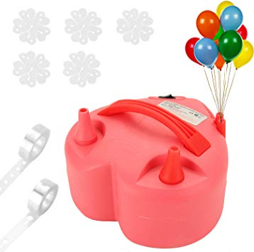 Electric Air Balloon Pump for $13.81 w.code