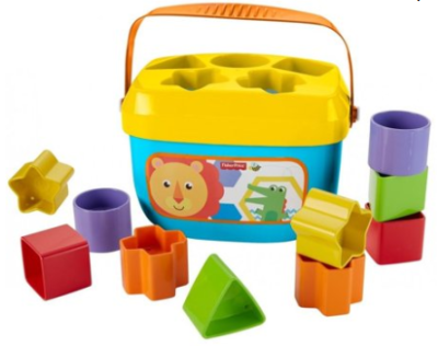 Walmart : Fisher-Price Baby's First Blocks with Storage Bucket Just $6.29 (Reg $9.99)