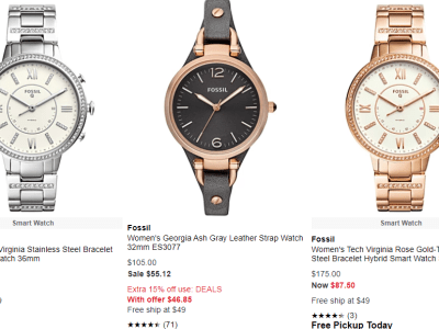 Macy's : Fosil Watches Sale!!