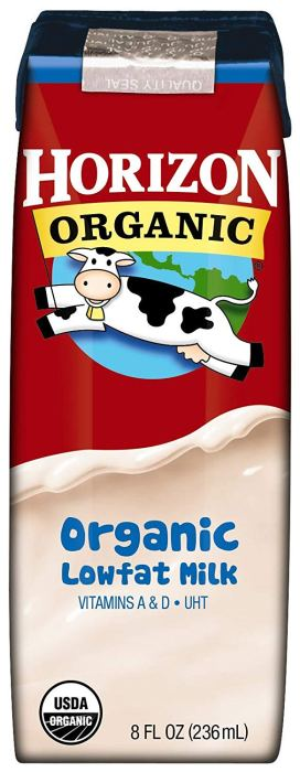 Free 8 oz Horizon Organic Milk at Giant Eagle Stores.