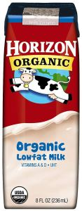 Free 8 oz Horizon Organic Milk at Giant Eagle Stores.