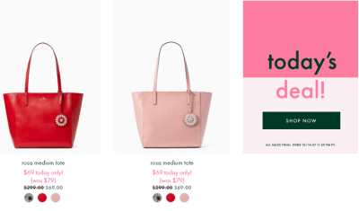 Kate Spade Fall Flash Sale : Bags From $69!