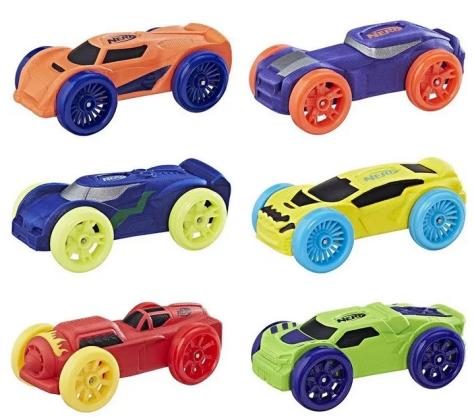 Nerf Nitro Foam Car 6-Pack for $3.99 (Reg $9.99)
