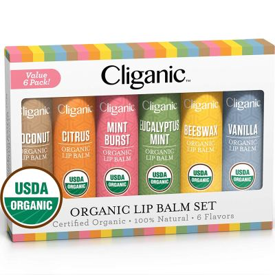 Amazon : Organic Lip Balm Set - 6 Assorted Flavors Just $5.59 W/20% Off Coupon (Reg : $9.99) (As of 10/20/2019 8.36 PM CDT)