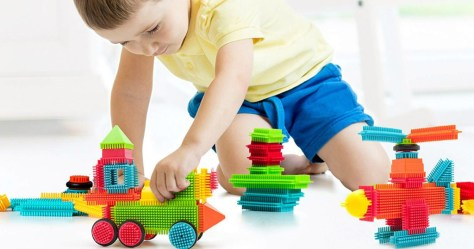 PicassoTiles Bristle Blocks 120-Piece Set Only $14.99 at Zulily (Regularly $90)