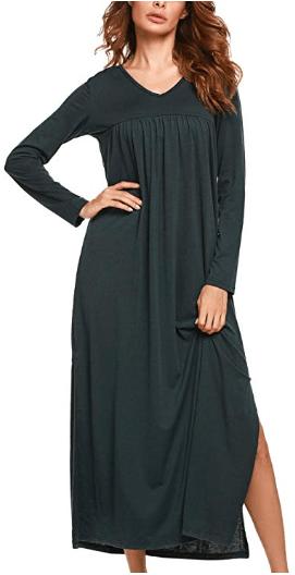 Amazon : Sleepwear Womens Full Length Just $6.60 W/Code (Reg : $21.99) (As of 10/12/2019 2.46 PM CDT)