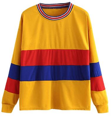 Amazon : Women's Long Sleeve Tape Striped T-Shirt Tops Just $6 W/Code (Reg : $19.99) (As of 10/23/2019 10.05 AM CDT)