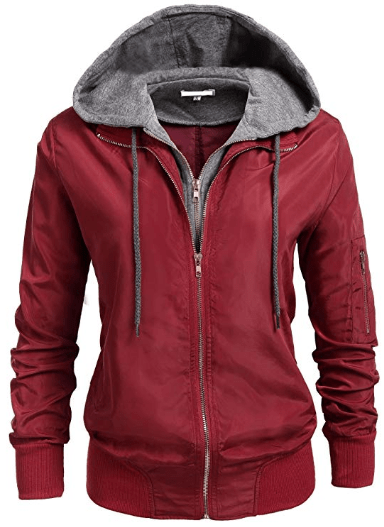 Amazon : Women's Relaxed Fit Double Zipper Hooded Jacket Just $19.99 W/Code (Reg : $39.99) (As of 10/13/2019 10.33 AM CDT)