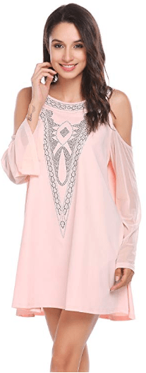Amazon : Women's long Sleeve Chiffon T-shirt Just $14.95 W/Code (Reg : $29.89) (As of 10/23/2019 5.54 AM CDT)
