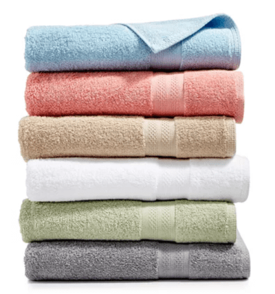 Soft Spun Cotton Bath Towel Collection starts from $1