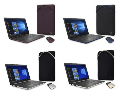HP 15 Laptop Bundle, 15.6″, AMD A4-9125, AMD Radeon R3 Graphics, 4GB SDRAM, 500GB HDD, Wireless Mouse, Sleeve for $269.00 (Reg $349.00)