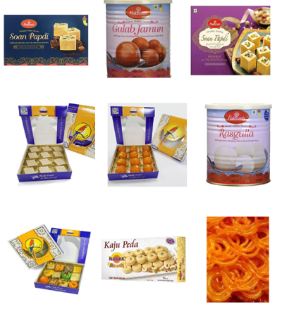 Indian Sweets at Amazon + Free Shipping