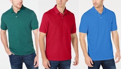 Men's Club Room Polo Shirts JUST $12.99 + FREE Pickup at Macy's (Reg $39.50)