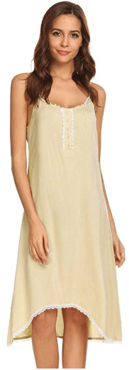 Amazon : Women Spaghetti Strap Lace Patchwork A-Line Sleepwear Dress Just $14.10 W/Code (Reg : $16.99) (As of 11/11/2019 9.24 AM CST)