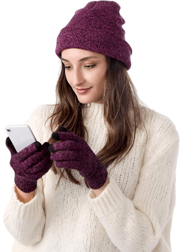 Amazon : Winter Knitted Beanie Hat & Gloves Just $4.79 W/Code (Reg : $15.99) (As of 11/11/2019 3.35 PM CST)