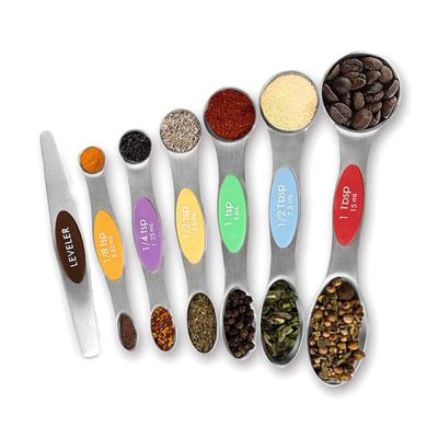 Amazon : 7pcs Magnetic Measuring Spoons Set Stainless Steel Just $4.60 W/Code (Reg : $35.99) (As of 11/18/2019 3.28 PM CST)