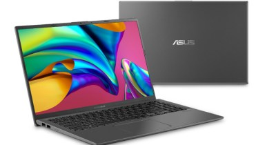 "ASUS VivoBook 15.6"" FHD Display Thin and Light, AMD Ryzen™ 3 3200U, 4GB DDR4, 128GB SSD, Vega 3 Graphics, Fingerprint Scanner, Windows 10 Home in S mode, Slate Gray, F512DA-WH31"