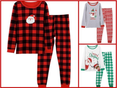 Amazon : Boys & Girls Christmas Pajamas Just $5.99 to $11.99 W/Code (Reg : $11.99 to $17.99) (As of 11/21/2019 9.20 PM CST)