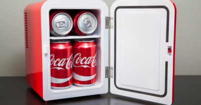 6 Can Personal Mini Fridge Just $29 at Walmart | Coke, Fanta (Reg: $64)