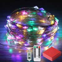Amazon : 80% Off Coupon Colorful Fairy Lights, 33ft 100 LED  Just $2 W/80% Off Coupon (Reg : $9.99) (As of 11/18/2019 10.06 AM CST)