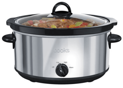 Jcpenney : Cooks 6-Qt. Stainless Steel Slow Cooker Just $7.99 W/Code + Mail In Rebate (Reg : $40)