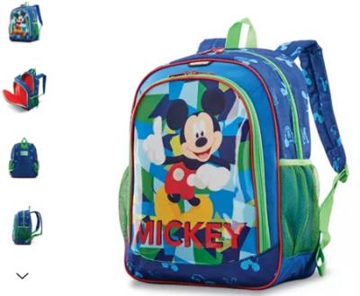 Macy's : American Tourister Disney Mickey Mouse Backpack Just $17.49 (Reg $50)