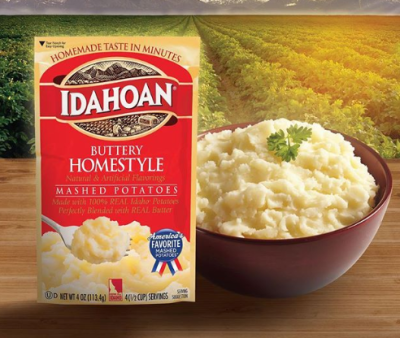 Kroger: FREE Idahoan Mashed Potatoes