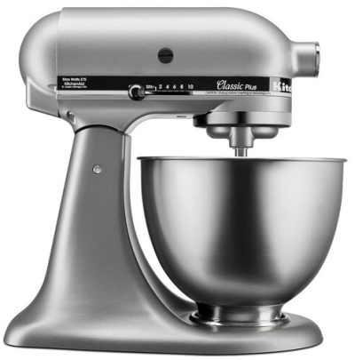KitchenAid 4.5-Quart Stand Mixer $139.99 After Kohl's Cash (Reg $260) – Black Friday!