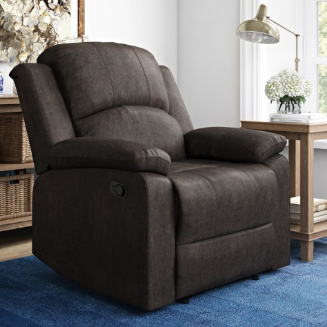 Lifestyle Solutions Reynolds Manual Recliner for $149 (reg: $259)