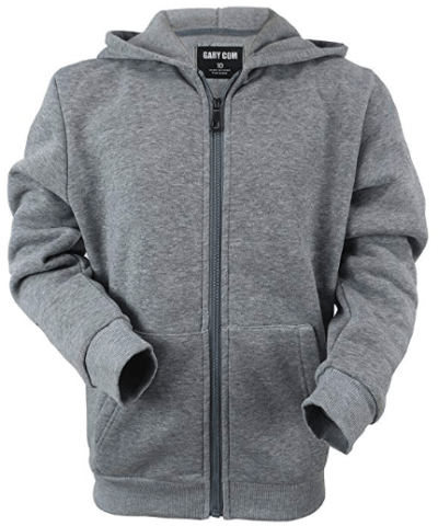 Amazon : Lightweight Fleece Boys Hoodie Full Zip Youth Big Child Kids Thin Sweatshirt Just $9.04 W/Code (Reg : $35.99) (As of 11/18/2019 3 PM CST)