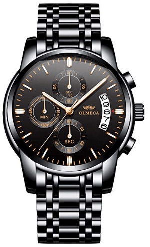 Amazon : Men's Watches Just $12.49 W/Code (Reg : $24.99) (As of 11/21/2019 8.16 PM CST)