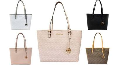 Michael Kors : MK Signature Bag Just $83 + FREE Shipping (Reg $300) – Many Colors!