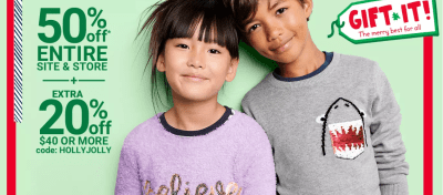 Up to 70% Off Oshkosh B'Gosh Baby & Kids Apparel + FREE Shipping (Today Only)