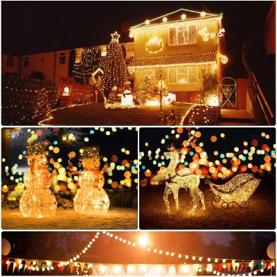 Amazon : Outdoor Solar String Lights Christmas, 33ft 200LED Just $5.09 W/Code (Reg : $16.99) (As of 11/18/2019 3.40 PM CST)