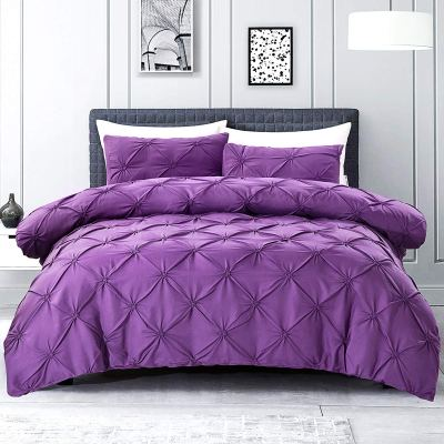 Amazon : Pleat Duvet Cover with Zipper Closure Just $9.80-12.60 W/Code (Reg : $27.99 - $35.99) (As of 11/13/2019 3.20 PM CST)