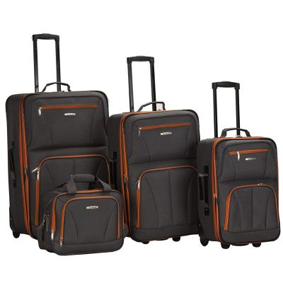 Amazon : Rockland Luggage 4 Piece Set, Charcoal, One Size Just $69.99 (Reg : $239.99) (As of 11/18/2019 8.50 PM CST)