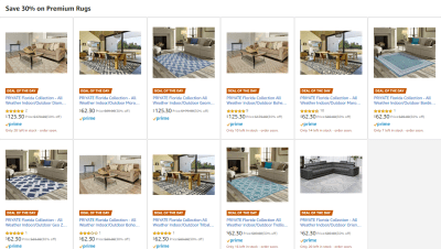 Amazon : SAVE 30% ON PREMIUM RUGS Just $62.30 - $125.30 W/Code (Reg : $89.00 - $179) (As of 11/22/2019 6.16 AM CST)