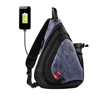 Amazon : Sling Bag One Strap Backpack Just $11.49 W/Code (Reg : $22.99) (As of 11/18/2019 9.22 PM CST)