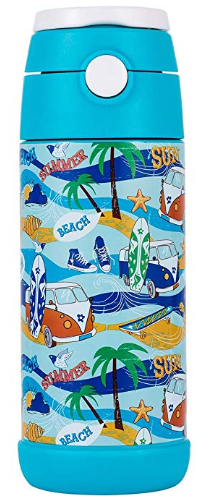 Amazon : Snug Flask for Kids - Vacuum Insulated Water Bottle with Straw (Space) Just $9.77 W/Code (Reg : $12.50) (As of 11/18/2019 11.10 AM CST)