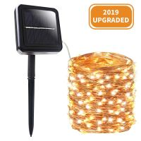Amazon : 200 LED Solar String Lights, Just $2.34 W/Code + Lightening Deal (Reg : $16.99) (As of 11/18/2019 7.38 AM CST)