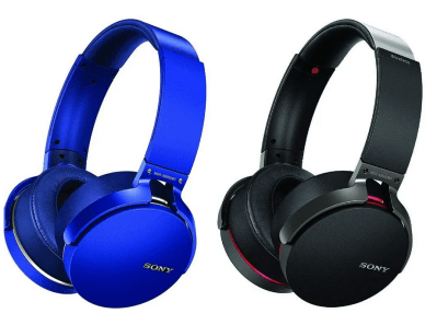 SONY MDR-XB950B1/B Black Wireless Extra BassTM Headphones for $99 (reg: $179.99)