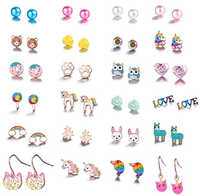 Amazon : 20/24 /30 Pairs Hypoallergenic Stud Earring Set Just $7.99 W/Code (Reg : $15.99) (As of 11/13/2019 10.50 AM CST)