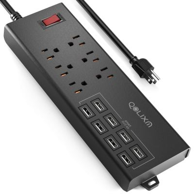 Amazon : Surge Protector with 8 USB Charging Ports & 6 Outlets Just $19.99 (Reg : $26.98) (As of 11/18/2019 6.27 PM CST)