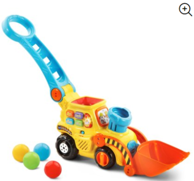 Walmart : VTech, Pop-a-Balls, Push & Pop Bulldozer, Toddler Learning Toy Just $15.99 (Reg : $24.78)
