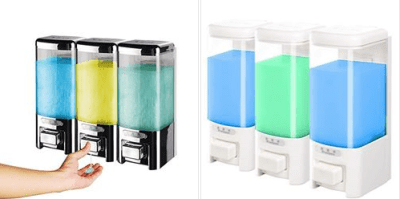 Amazon : Wall Mounted Liquid Hand Soap Dispenser Just $1.20-$12.80 W/Code (Reg : $3.01-31.99) (As of 11/22/2019 6.09 AM CST)