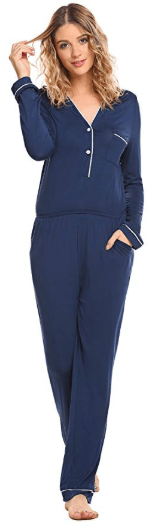 Amazon : Women's Onesie One Piece Pajamas Zip Front Hooded Jumpsuit Just $16.19 W/Code (Reg : $26.99) (As of 11/21/2019 7.48 PM CST)