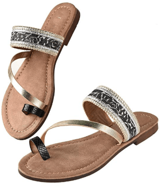 Amazon : Women's Strap Flat Sandals Just $9.99 W/Code (Reg : $58.59) (As of 11/13/2019 2.41 PM CST)
