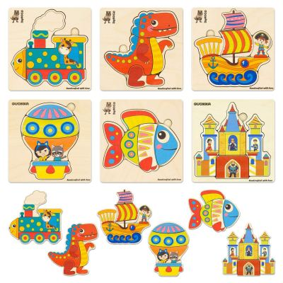 Amazon : 6 Pack Wooden Jigsaw Puzzles Just $13.51 W/Lightening Deal (Reg : $19.99) (As of 11/18/2019 10.45 AM CST)